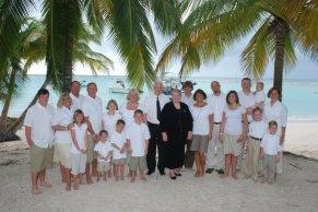 Strong Family in Barbados. Nov. 2008
